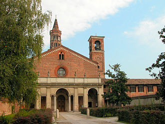 Chiaravalle Abbey - The church's principal façade.