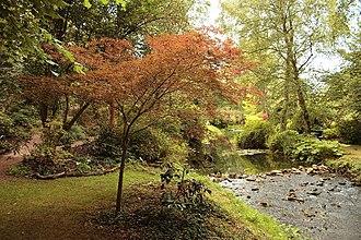 Malmesbury - Abbey Gardens along the River Avon