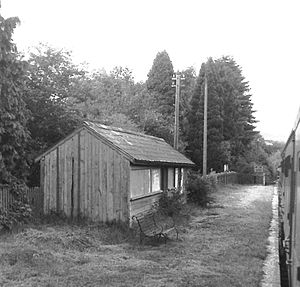 Neath and Brecon Railway - Aberbran halt