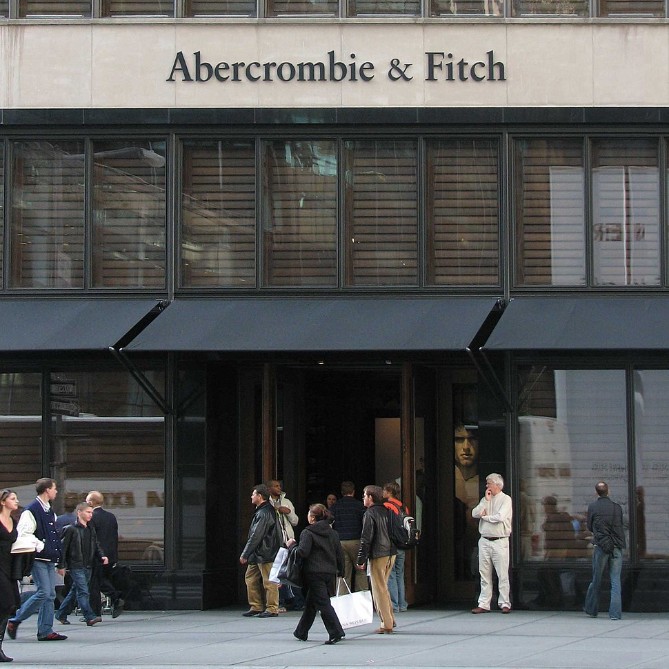 Abercrombie & Fitch store in New York City