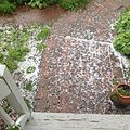 Accumulated hail from a storm in --Charlton, Massachusetts-- 2014-06-10 21-49.jpg