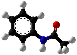 Acetanilide - Image: Acetanilide Ball and Stick