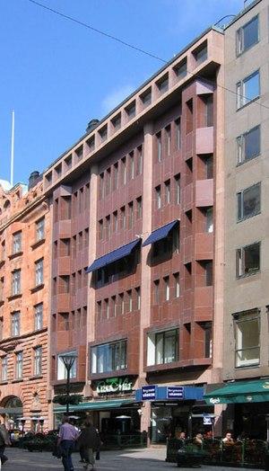 Carl-Axel Acking - Skånska Banken på Södergatan i Malmö