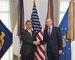 Acting U.S. Secretary of Defense Shanahan bilateral meeting with Japanese Minister of Defense Iwaya 190116-D-IO684-015.jpg