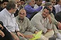 Activists of the Holy Defense Art meeting with Ali Khamenei (2).jpg