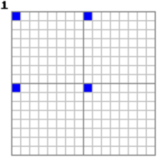 Adam7 algorithm - Image: Adam 7 pass 1