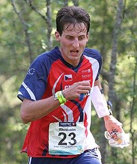 Adam Chromý Czech orienteerist