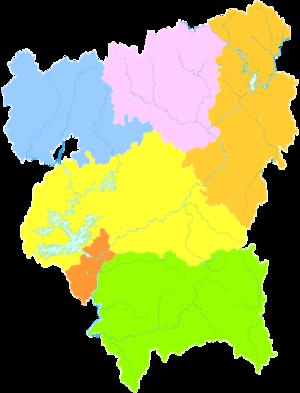 Heyuan - Image: Administrative Division Heyuan
