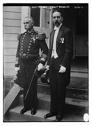 Post Wheeler - Admiral Austin Melvin Knight and Post Wheeler in 1918