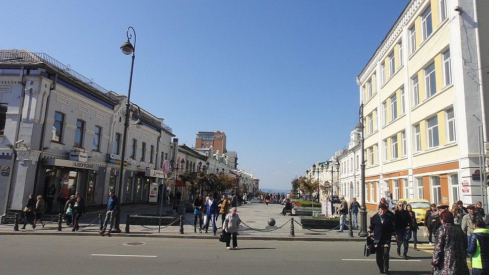 Admirala Fokina Street in Vladivostok 1