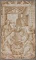 Adorace narozeného Krista se sv. Lucií (Giulio Campi, Národní galerie v Praze).jpg