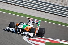 Sutil sulla Force India al Gran Premio di Turchia 2009