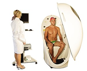 Body fat percentage - Body composition measurement with whole-body air displacement plethysmography (ADP) technology