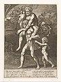 Aeneas en zijn familie vluchten uit Troje, RP-P-H-C-51.jpg