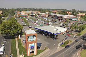 Northmead Square - Aerial view of Northmead Square.