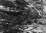 Aerial view of a prisoner-of-war camp near Nagoya, Japan, in August 1945.jpg