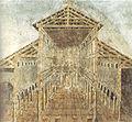Affresco dell'aspetto antico della basilica costantiniana di san pietro nel IV secolo.jpg