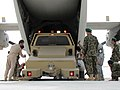 "Afghan Army Air Corps coordinates and load their first ""heavy load"" (4684481248).jpg"