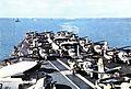 Aft flight deck of USS Essex (CVS-9) in 1963.jpg