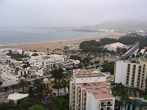 Agadir - Fog in Agadir