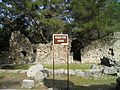 Agora of Hadrian which opens up into the city square in the centre of the city, Phaselis, Lycia, Turkey (9696098294).jpg