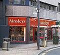 Ainsley's Bakers - Infirmary Street - geograph.org.uk - 1597458.jpg