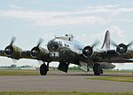 """AirExpo 2010 - B-17 Flying Fortress """"Yankee Lady"""" (4824664844).jpg"""