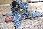 Airborne medics train Iraqi security force counterparts on basic combat medic skills DVIDS189569.jpg