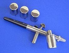Airbrush Makeup on Airbrush Spritzpistole  13 5 Zentimeter Lang  Mit Austauschbaren