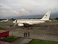 Airbus A319CJ Aeronave Presidencial de Venezuela en el Aeropuerto Antonio Nicolas Briceño.jpg