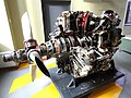 Aircraft engine - Franklin Institute - DSC06591.JPG