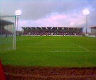 Excelsior Stadium - Image: Airdrie FC
