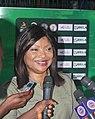 Aisha Falode, Chairperson of the Nigeria Women Football League.jpg
