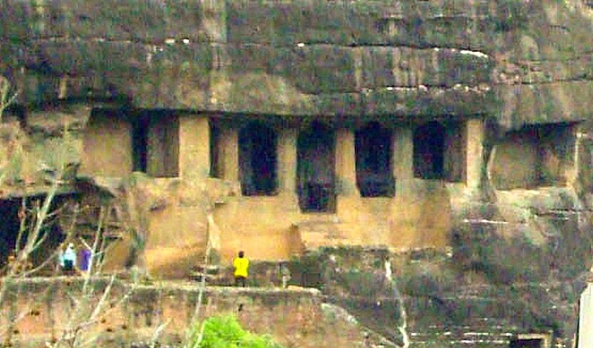 Ajanta Cave 11 outside view