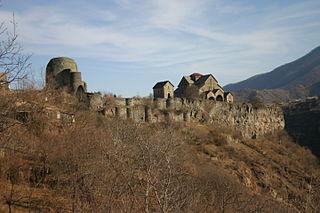 Akhtala Monastery cultural heritage monument of Armenia