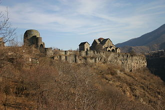 Akhtala Monastery - Image: Akhtala monastery 110