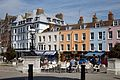 Al fresco eating at The Parade in Margate Kent England.jpg