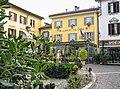 Albergo del Duca, Piazza Mazzini, Como, Italy - panoramio.jpg