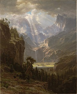 Albert Bierstadt - Rocky Mountains, Lander's Peak (1863)