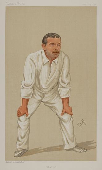 Bowling average - A. N. Hornby is one of three players to have a bowling average of zero in Test cricket.