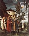 Albrecht altdorfer, St Florian Taking Leave of the Monastery.jpg