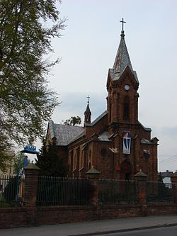 Church of the Transfiguration, built 1880-1886.