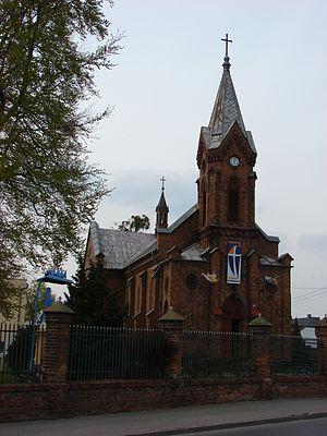 Aleksandrów Kujawski - Church of the Transfiguration, built 1880-1886.