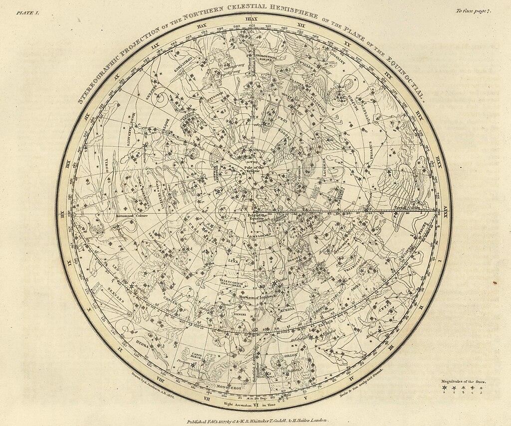 Alexander Jamieson Celestial Atlas-Plate 1