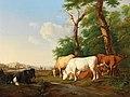 Alexander Johann Dallinger von Dalling - Cows in a meadow.jpg