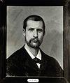 Alexandre Emile Jean Yersin. Photograph by Kaufmann-Fabry, 1 Wellcome V0027362.jpg