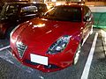 Alfa Romeo Giulietta III Sprint at night front.JPG