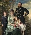 Alfred, Duke of Edinburgh with his family, Carl Rudolph Sohn, 1884.jpg