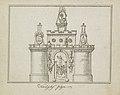 Algemene Wapening, decoratie op het Kadijksplein, 1795 Kadyks plyn (titel op object), BI-B-FM-099-5.jpg