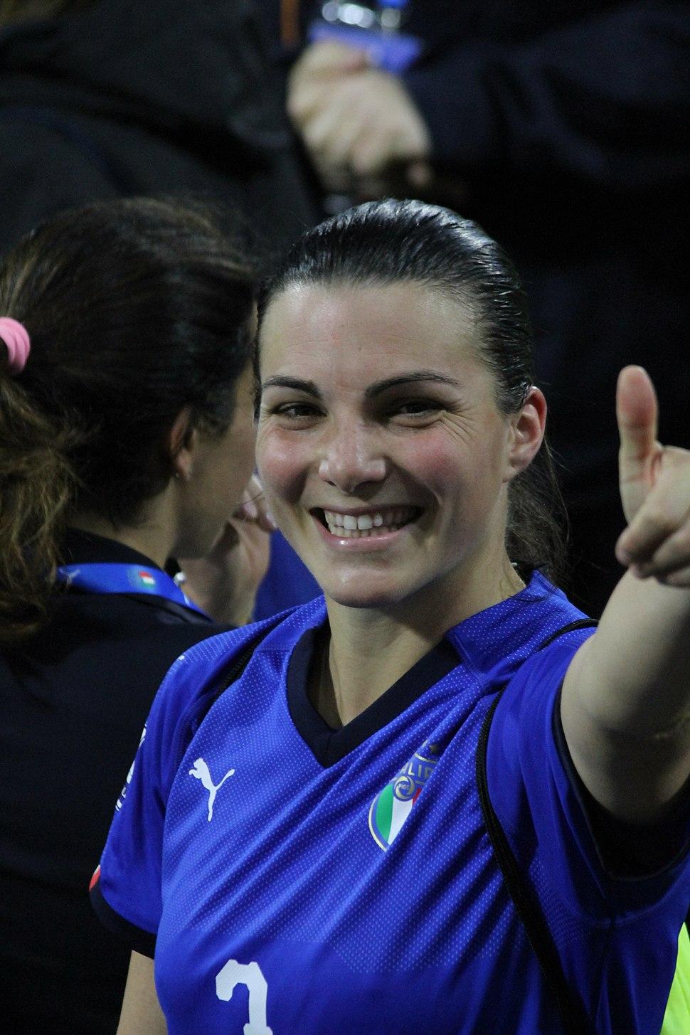 Alia Guagni, Italy vs Belgium women's, Ferrara 2018-04-10 100